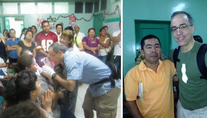Dr. Derick in Nicaragua on a Medical Mission Trip