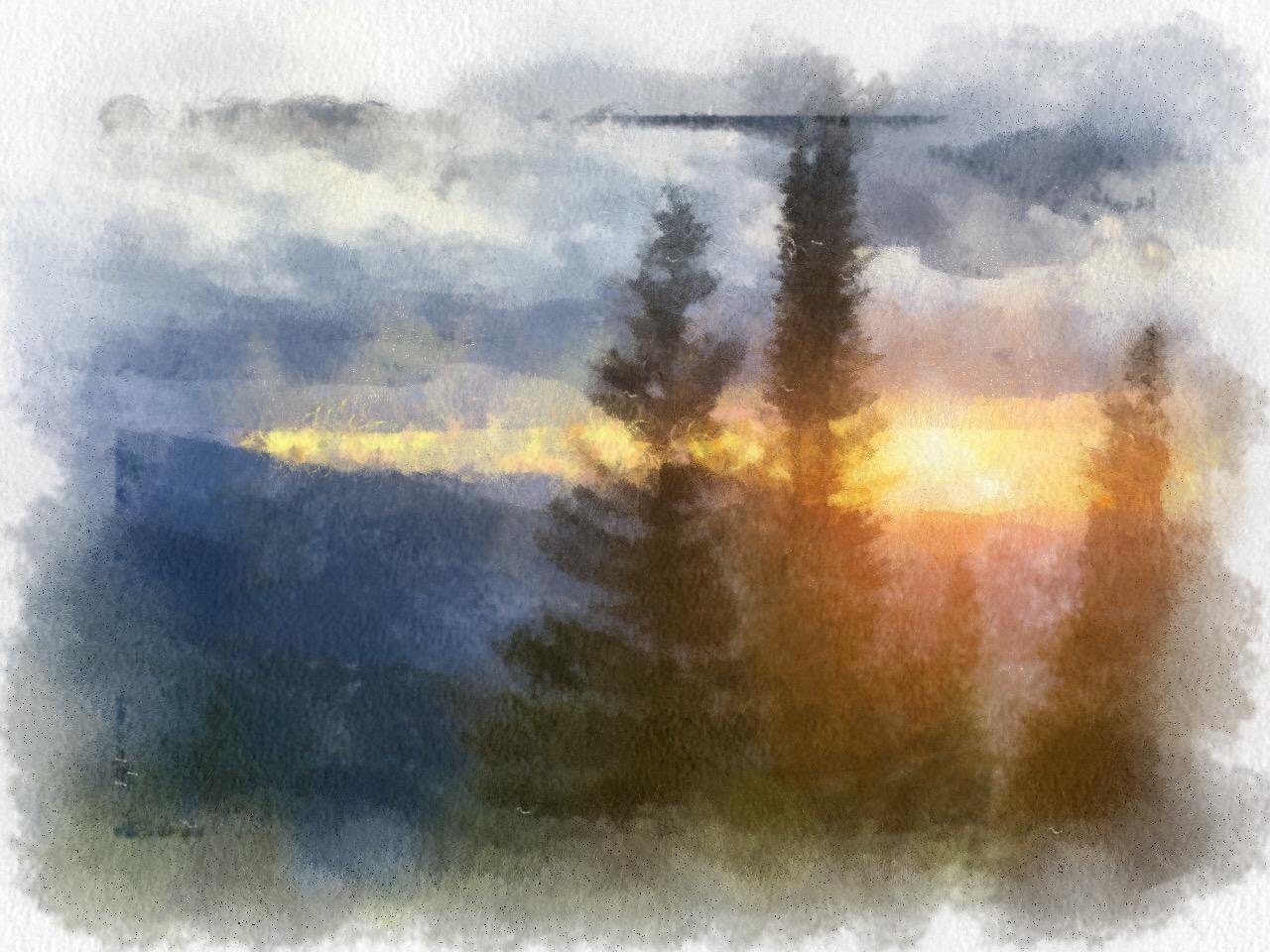 Aspen-Sunset