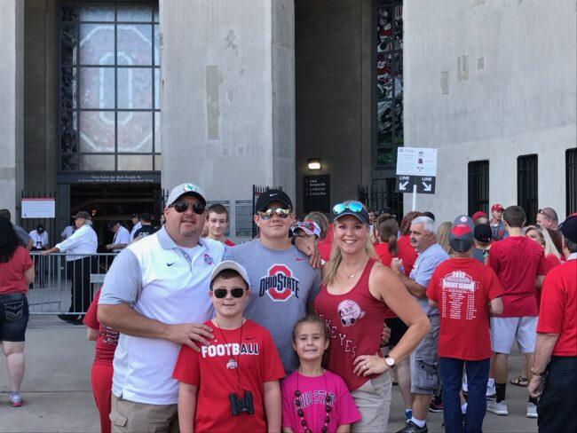 Hartman Family Ohio State Football