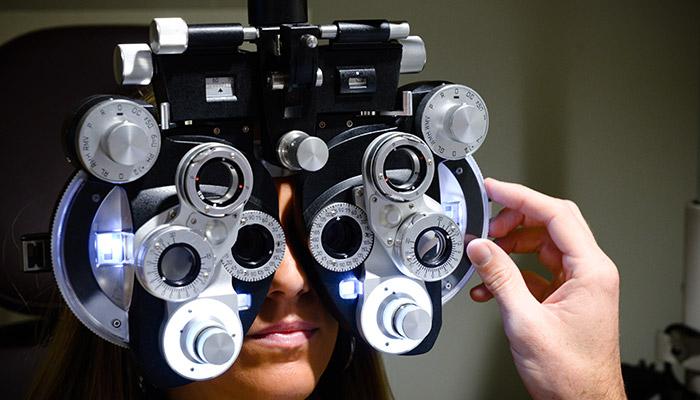 eye exam at coa